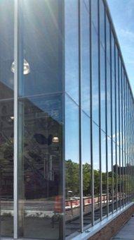 Fassade der Universitäts-Molkerei