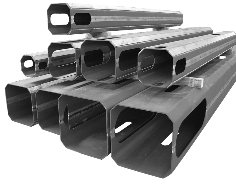 hollow carbon steel sections