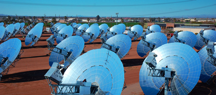 Dish-Stirling-Solar-Energy