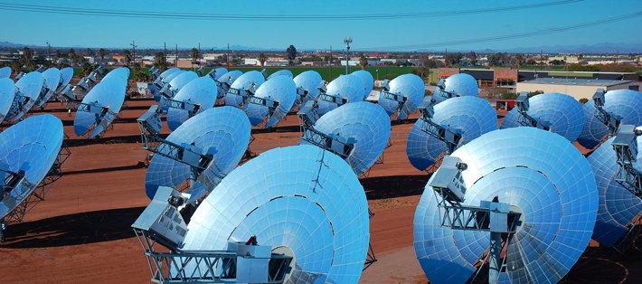 Dish-Stirling-Anlagen-Solar-Energie