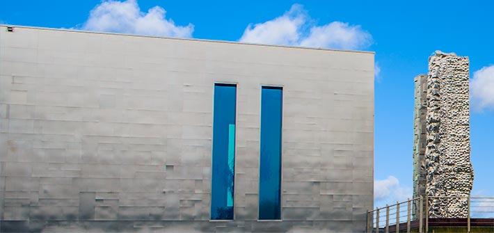 Edelstahl-Fassaden-Verkleidung