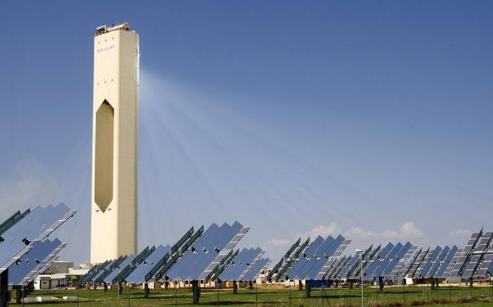 Solarturmkraftwerk-Solarenergie
