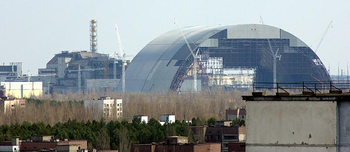 New Safe Confinement in Tschernobyl