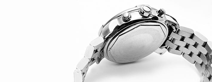 Edelstahl-Gehaeuse-Armbanduhren
