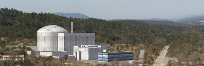 Der Jules-Horowitz-Reaktor besteht großteils aus Edelstahl