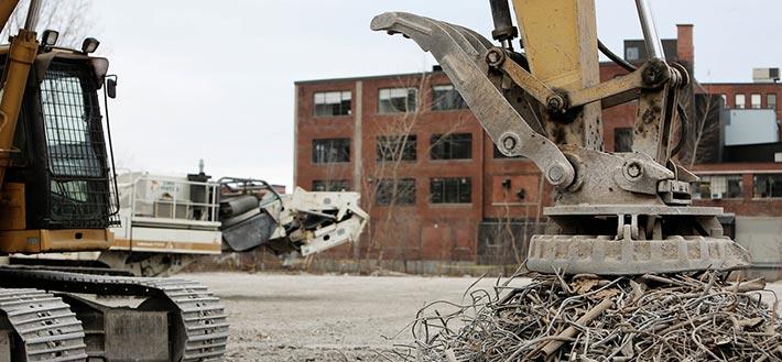 Recycling von Stahlschrott