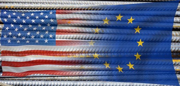 europäische Stahlimporte in die USA