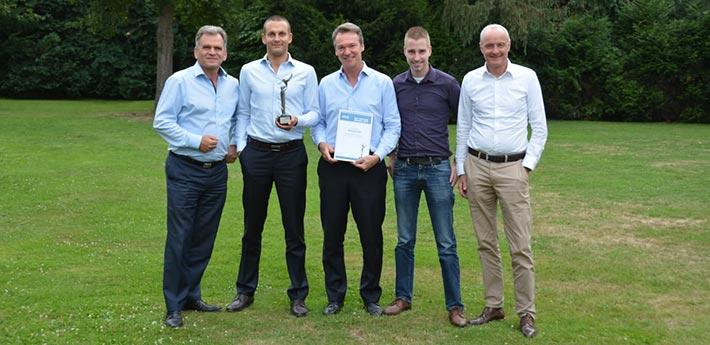 Montanstahl gewinnt MCB Best Supplier Award 2017 für Edelstahl Produkte