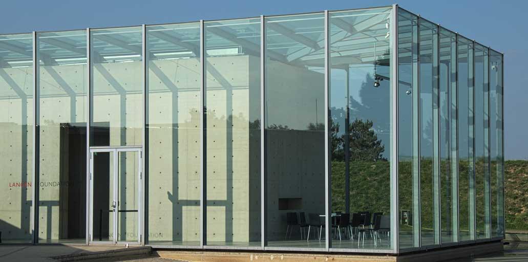 Stahl-Glass-Fassade